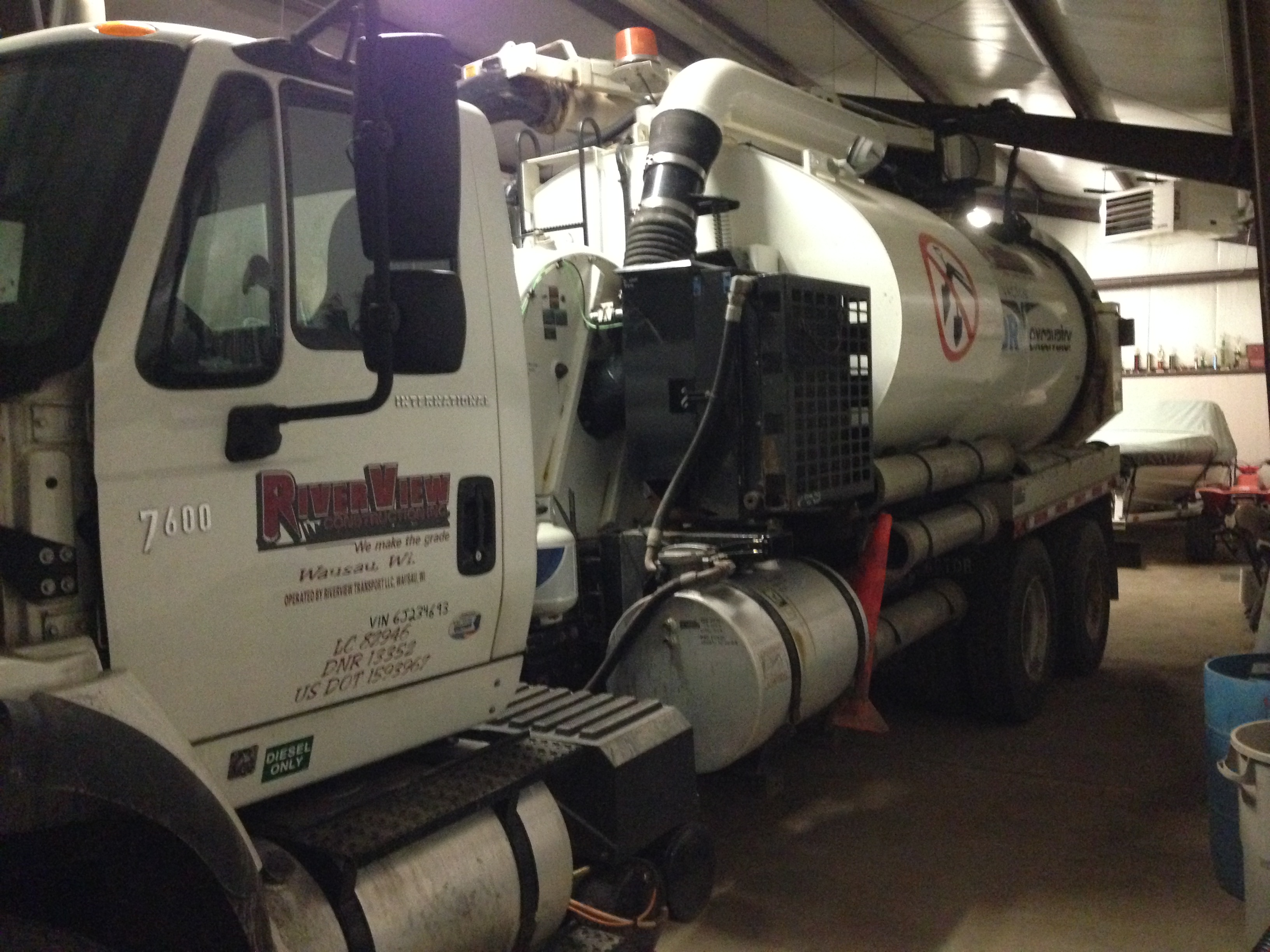 International HydroVac Truck