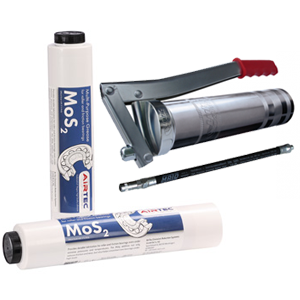 Lube Shuttle Lever Handle Grease Gun and MoS2 Multipurpose Grease package