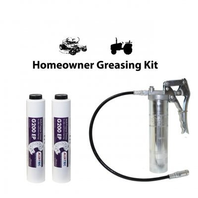 Lube Shuttle Grease Gun and Grease for Lawnmowers | AET Systems, Inc.