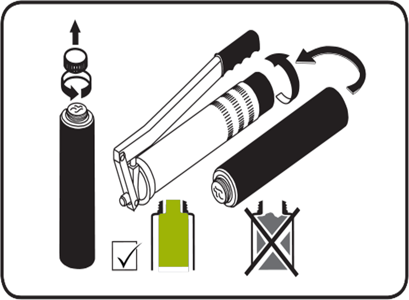 how to load a grease gun